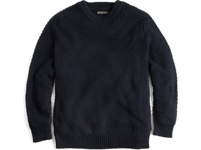 United By Blue Organic Cotton Sweat-shirt à col ras-du-cou Homme, black